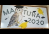 Dekoracje szkolne - Matura 2020